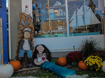 2017 Mahone Bay Scarecrow